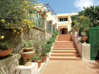 Capri im Villa Sarah