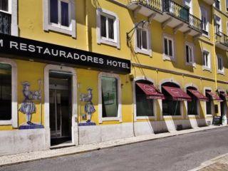 Lissabon im Turim Restauradores Hotel