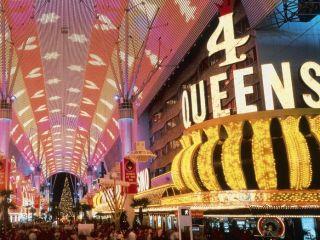 Las Vegas im Four Queens Casino & Hotel