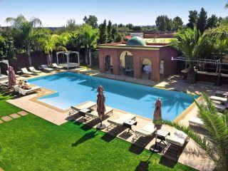Marrakesch im Palais El Miria