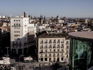 Madrid im Hotel Santo Domingo