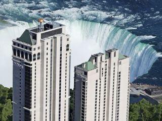 Niagara Falls im Hilton Niagara Falls/ Fallsview Hotel & Suites
