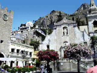Taormina im Vello d'Oro