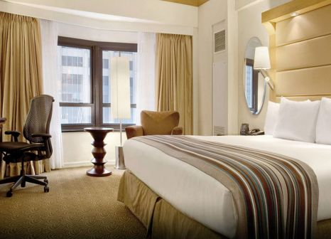 Hotelzimmer mit Animationsprogramm im New York Hilton Midtown