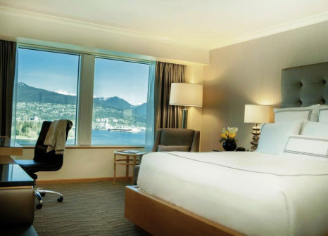 Hotelzimmer mit Animationsprogramm im Pan Pacific Vancouver