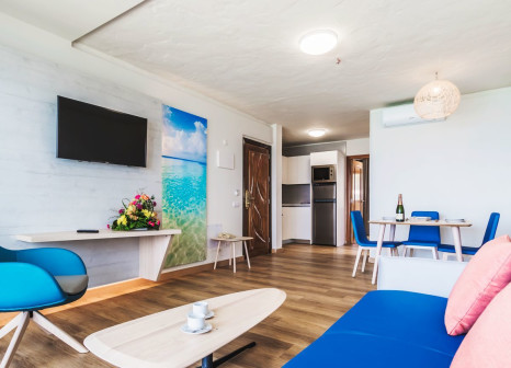 Hotelzimmer mit Tennis im Garden & Sea Boutique Lodging