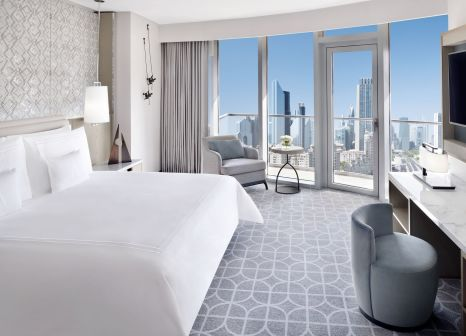 Hotelzimmer mit Animationsprogramm im Address Dubai Mall