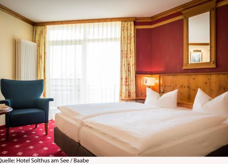 Hotelzimmer mit Fitness im Hotel Solthus am See