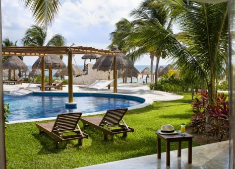 Hotelzimmer mit Volleyball im Excellence Playa Mujeres
