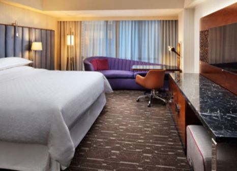 Hotelzimmer mit Animationsprogramm im Sheraton Grand Los Angeles