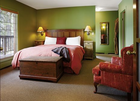 Hotelzimmer mit Fitness im Emerald Lake Lodge