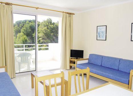 Hotelzimmer mit Golf im Apartamentos Massanet