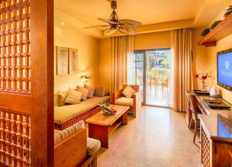 Hotelzimmer mit Volleyball im Grand Waterworld Makadi