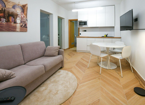 Hotelzimmer mit Direkte Strandlage im Aparthotel Milenij