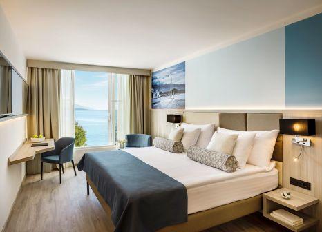 Hotelzimmer mit Yoga im Valamar Carolina Hotel & Villas