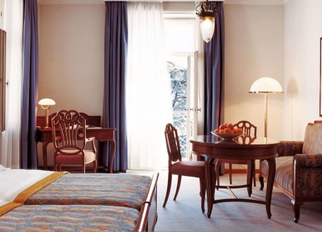 Hotelzimmer mit Animationsprogramm im Parkhotel Laurin