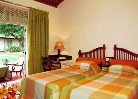 Hotelzimmer mit Volleyball im Hotel Sigiriya