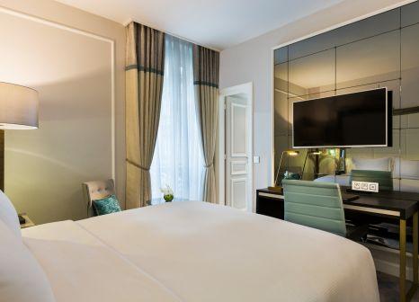 Hotelzimmer mit Restaurant im Hilton Paris Opera