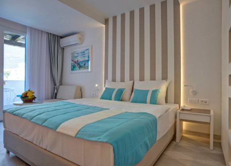 Hotelzimmer mit Yoga im Hotel Aleksandar