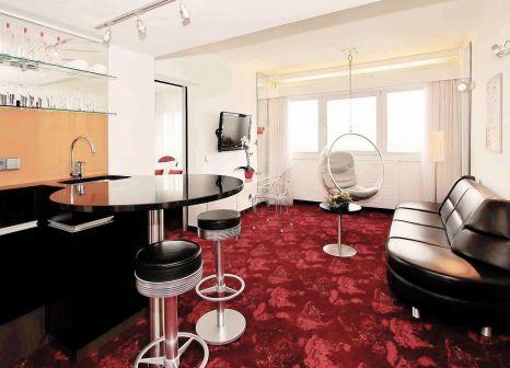 Hotelzimmer mit Sauna im ARCOTEL Nike Linz
