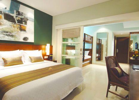 Hotelzimmer mit Mountainbike im Bali Dynasty Resort