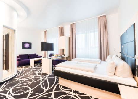 Hotelzimmer mit Aerobic im Bäder Parkhotel & Sieben Welten Therme & Spa Resort