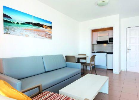 Hotelzimmer mit Mountainbike im El Trebol