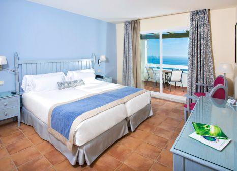Hotelzimmer mit Mountainbike im Fuerte Conil