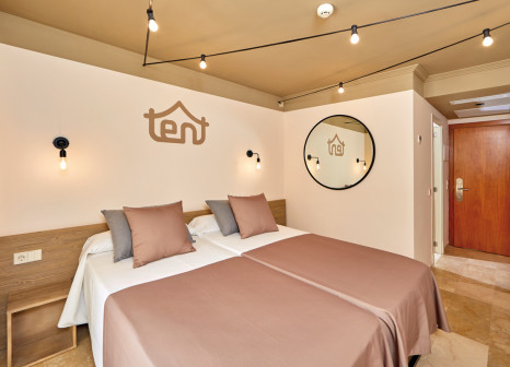 Hotelzimmer mit Tennis im tent Capi Playa