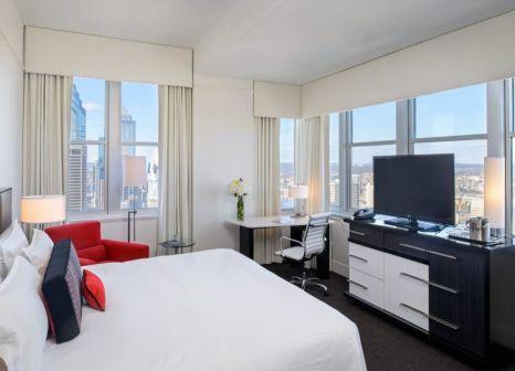 Hotelzimmer mit Animationsprogramm im Loews Philadelphia Hotel