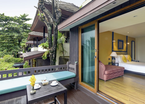 Hotelzimmer mit Paddeln im Andaman White Beach Resort