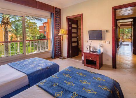 Hotelzimmer mit Volleyball im Caribbean World Resort Soma Bay