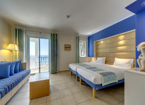 Hotelzimmer mit Mountainbike im ROBINSON Daidalos