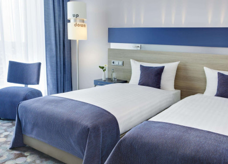 Hotelzimmer mit Restaurant im InterCityHotel Enschede