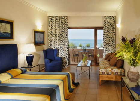 Hotelzimmer mit Mountainbike im Aquila Rithymna Beach