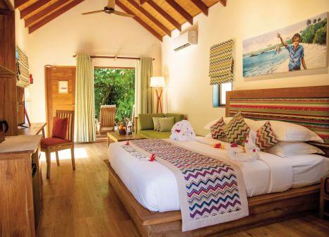 Hotelzimmer mit Fitness im Reethi Faru Resort