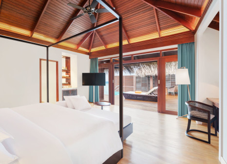 Hotelzimmer mit Tennis im Sheraton Maldives Full Moon Resort & Spa