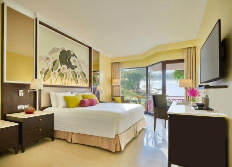 Hotelzimmer mit Volleyball im Dusit Thani Laguna Phuket