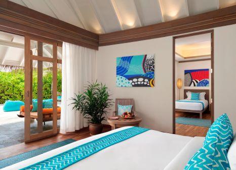 Hotelzimmer mit Fitness im Anantara Dhigu Maldives Resort