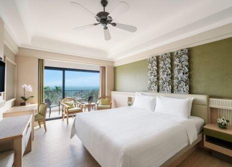 Hotelzimmer mit Volleyball im Shangri-La Rasa Sentosa, Singapore
