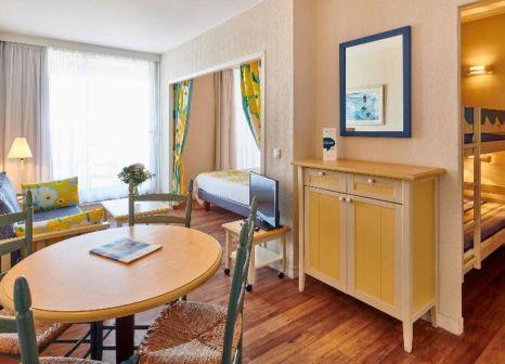 Hotelzimmer mit Tischtennis im Hôtel Résidence Le Grand Large