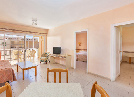 Hotelzimmer mit Tischtennis im Sol La Palma Apartamentos