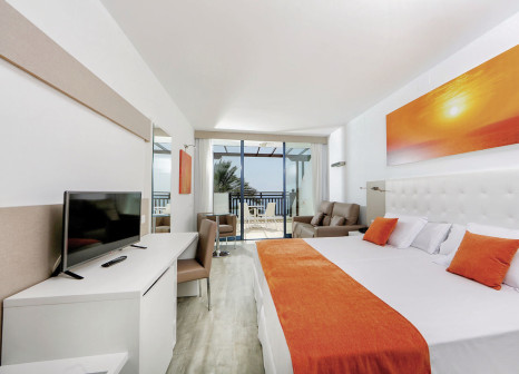 Hotelzimmer mit Mountainbike im Sandos Papagayo