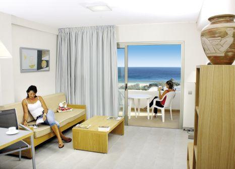 Hotelzimmer mit Mountainbike im Alameda de Jandia
