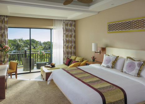 Hotelzimmer mit Mountainbike im Shangri-La's Rasa Ria Resort & Spa Kota Kinabalu