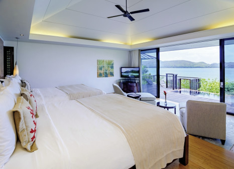Hotelzimmer mit Golf im Raffles Seychelles
