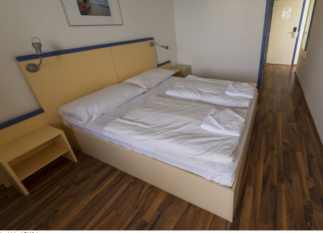 Hotelzimmer mit Minigolf im Lido