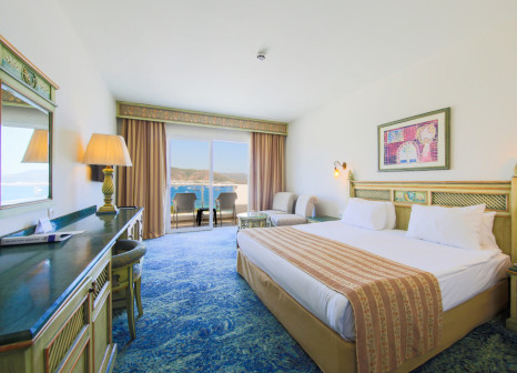 Hotelzimmer mit Volleyball im Salmakis Resort & Spa