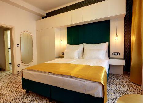 Hotelzimmer mit Mountainbike im Astoria Hotel & Medical Spa, Depandance Wolker