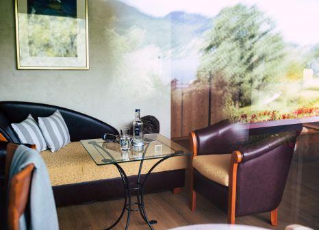 Hotelzimmer mit Mountainbike im Terrassenhof